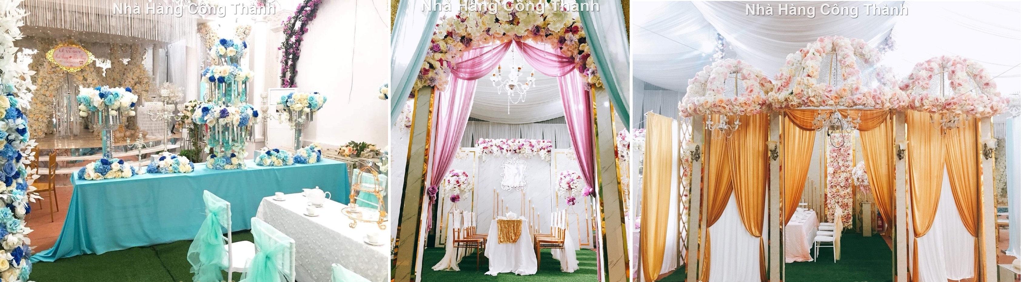 Nhà Hàng Tiệc Cưới Công Thành - nhà hàng tiệc cưới đẹp nhất Thị trấn Cao Lộc, Lạng Sơn