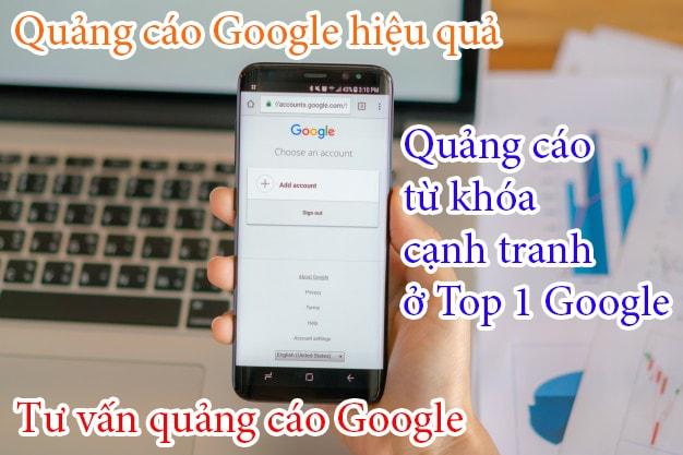Tư vấn quảng cáo Lên top Google giá rẻ