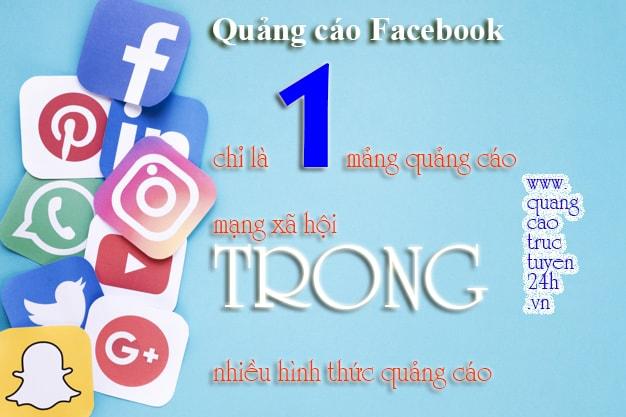 Bên cạnh việc quảng cáo Facebook, bạn nên triển khai nhiều mảng quảng cáo tiềm năng khác