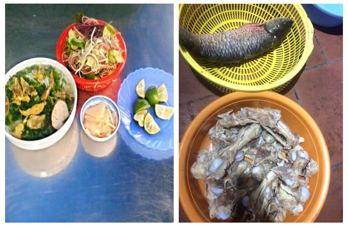 những món ăn ngon và đảm bảo VSATTP là tiêu chí hàng đầu của Cháo cá trắm Thu Hiền