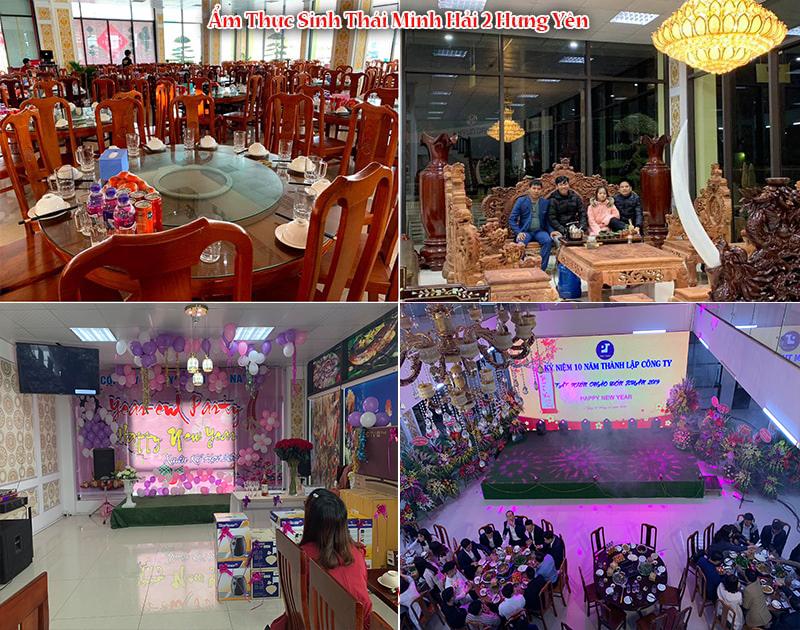 Không gian tuyệt vời tại Ẩm Thực Sinh Thái Minh Hải 2 Hưng Yên