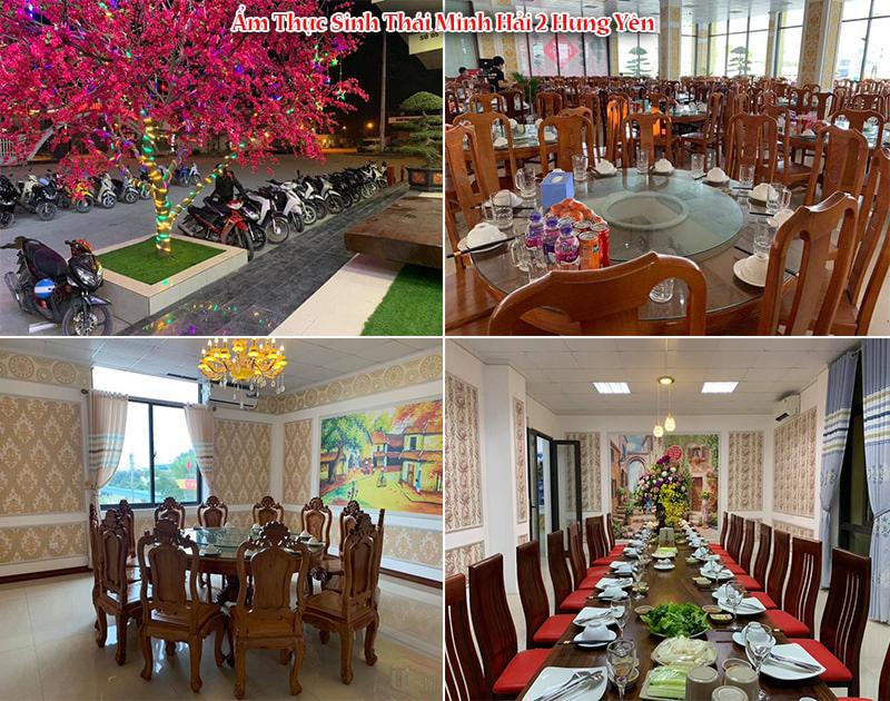 Không gian ẩm thực sinh thái Minh Hải