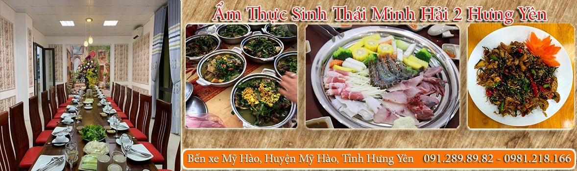 Ẩm Thực Sinh Thái Minh Hải 2 Hưng Yên - Nhà hàng đặc sản đồng quê tại Hưng Yên