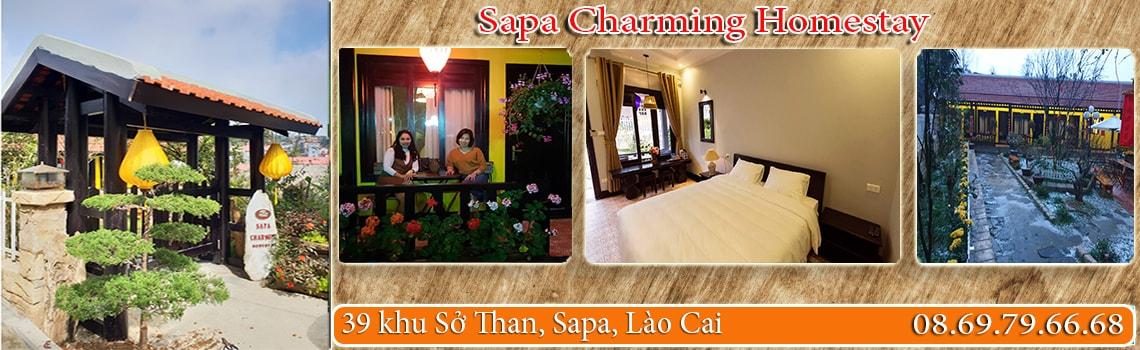 Banner Sapa Charming Homestay