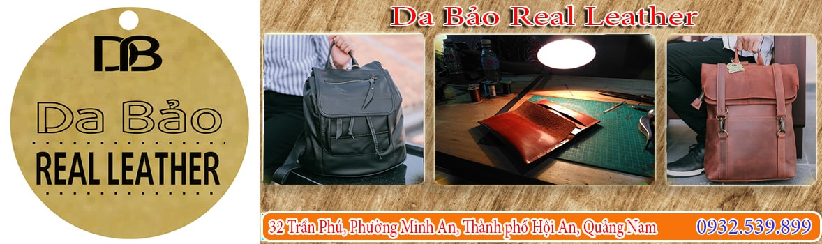Da Bảo Real Leather - Da Bảo Real Leather tại Hội An - Thương hiệu Da nổi tiếng Hội An- Sản xuất da thật uy tín tại Hội An