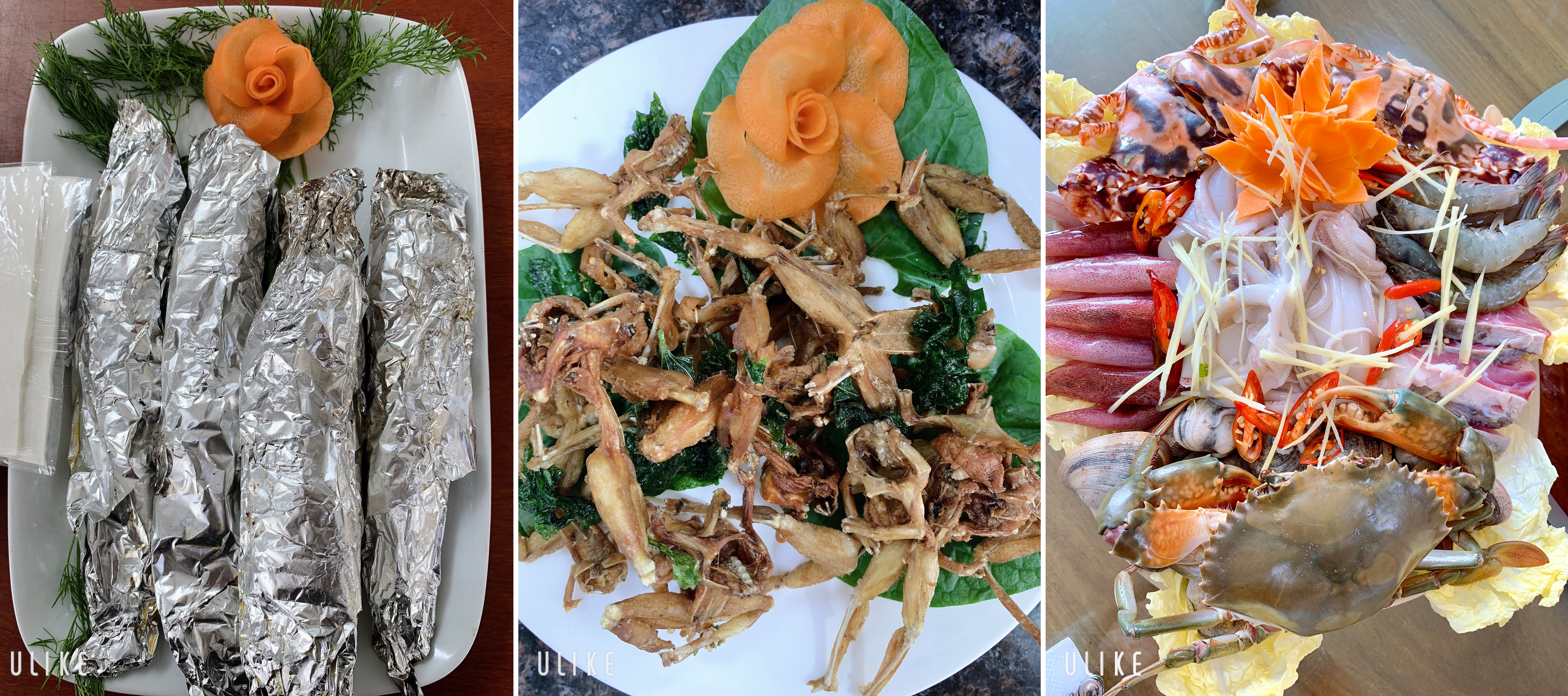 Thực đơn Nhà Hàng Ẩm Thực Sinh Thái Minh Hải 2 Hưng Yên