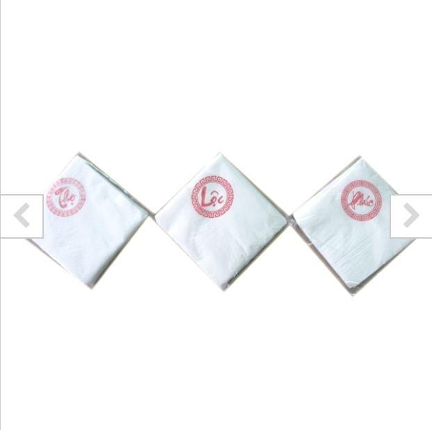 Dịch vụ in logo lên giấy ăn tại Đà Nẵng