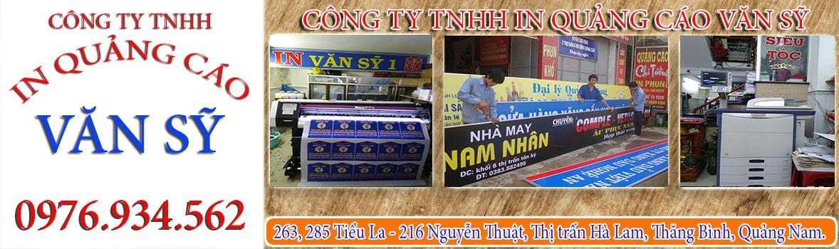 Banner In Quảng Cáo Văn Sỹ