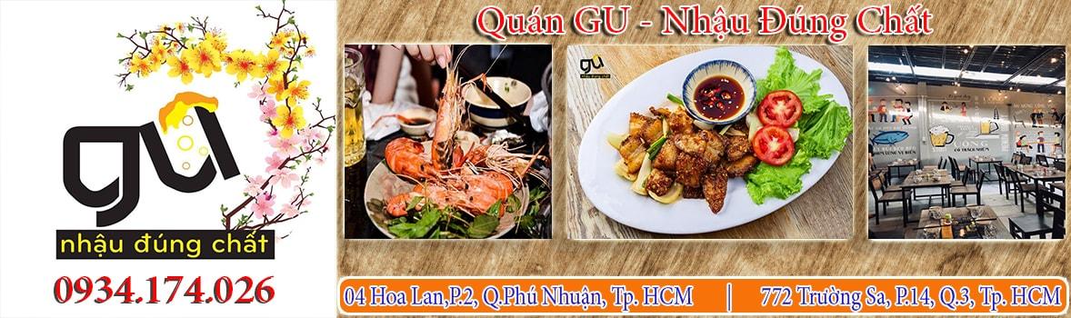 GU - Nhậu Đúng Chất - Quán nhậu đặc sản Phú Yên tại HCM