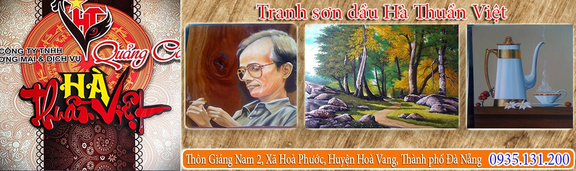 Tranh sơn dầu Hà Thuần Việt