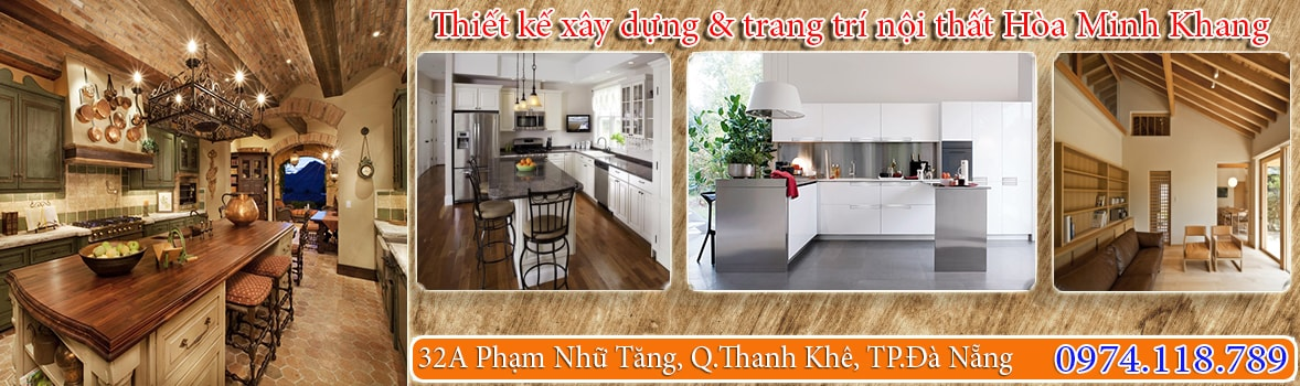 BAnner Thiết kế xây dựng & trang trí nội thất Hòa Minh Khang