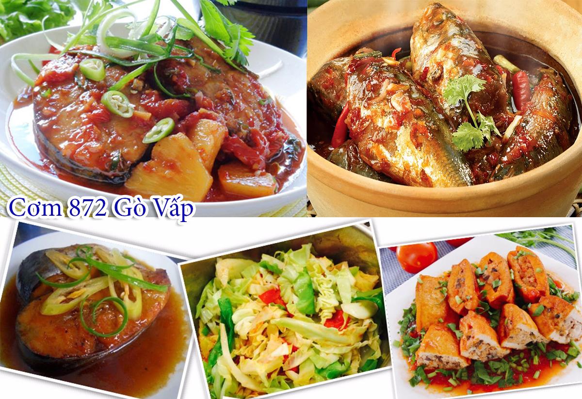 Cơm 872 Gò Vấp - Quán cơm văn phòng ăn ngon tại quận Gò Vấp