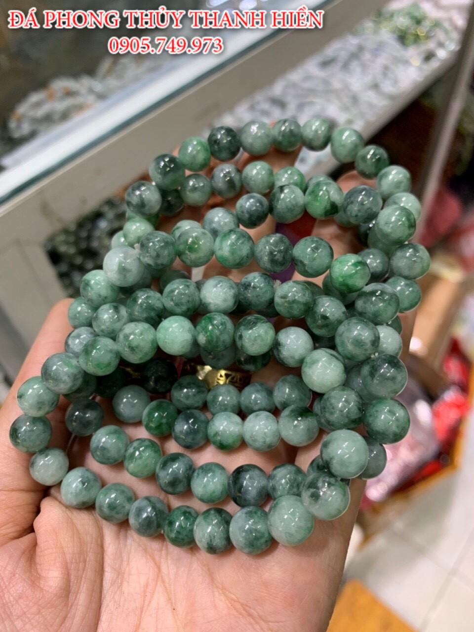 Vòng đá Ngọc cẩm thạch thiên nhiên
