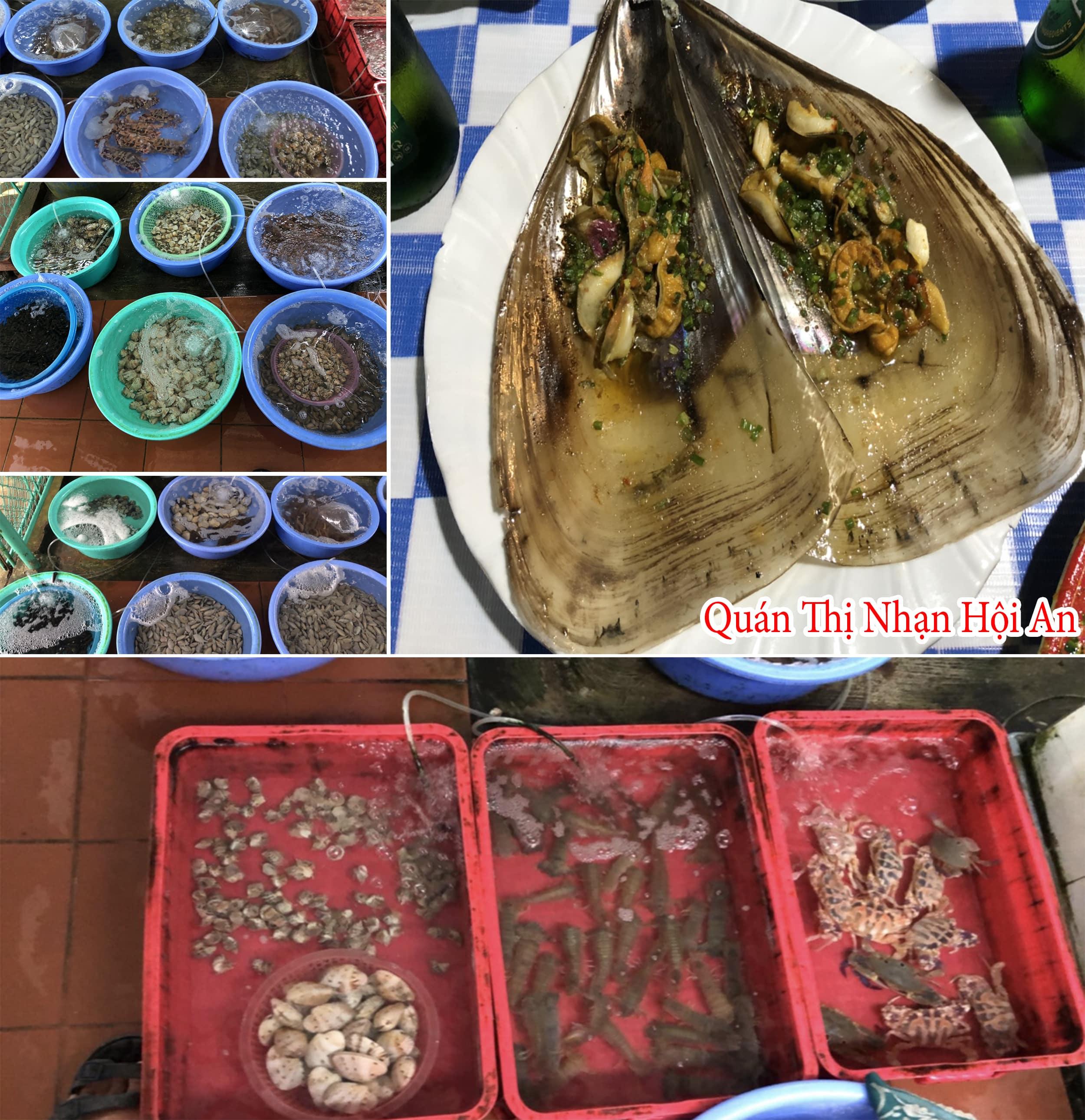 Các loại hải sản rất đa dạng mà lại ngon, bổ, rẻ