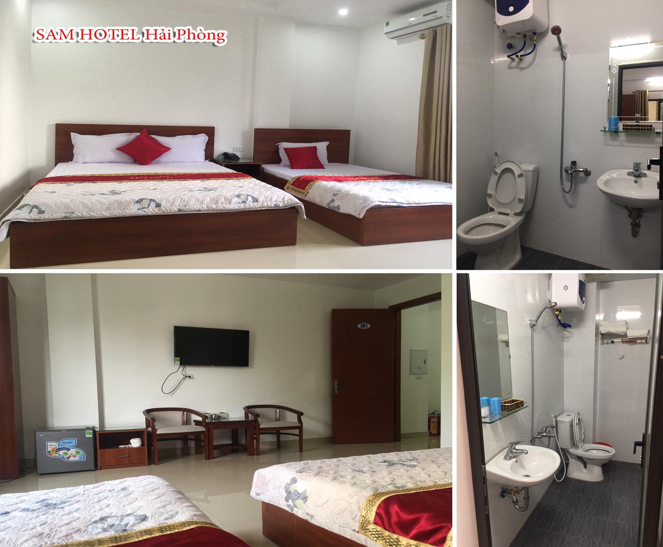 Hình ảnh nội thất khách sạn Sam Hotel Hải Phòng