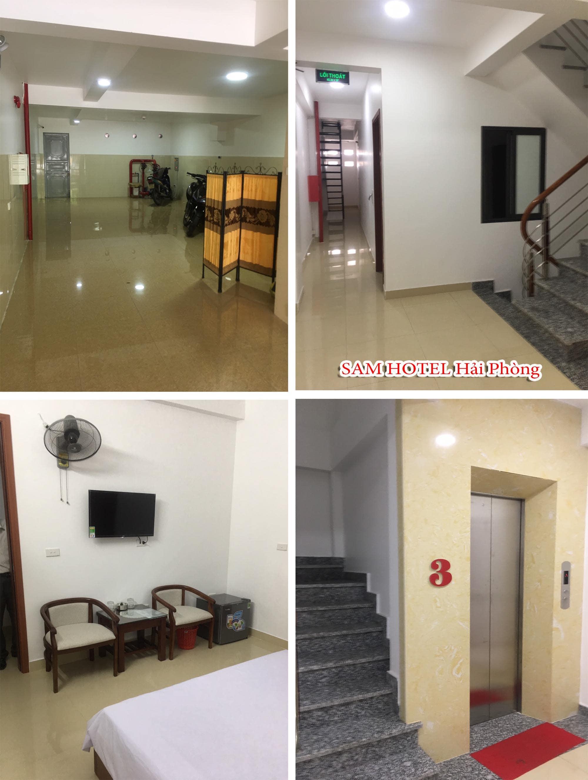 Hình ảnh thực tế khách sạn Sam Hotel Hải Phòng