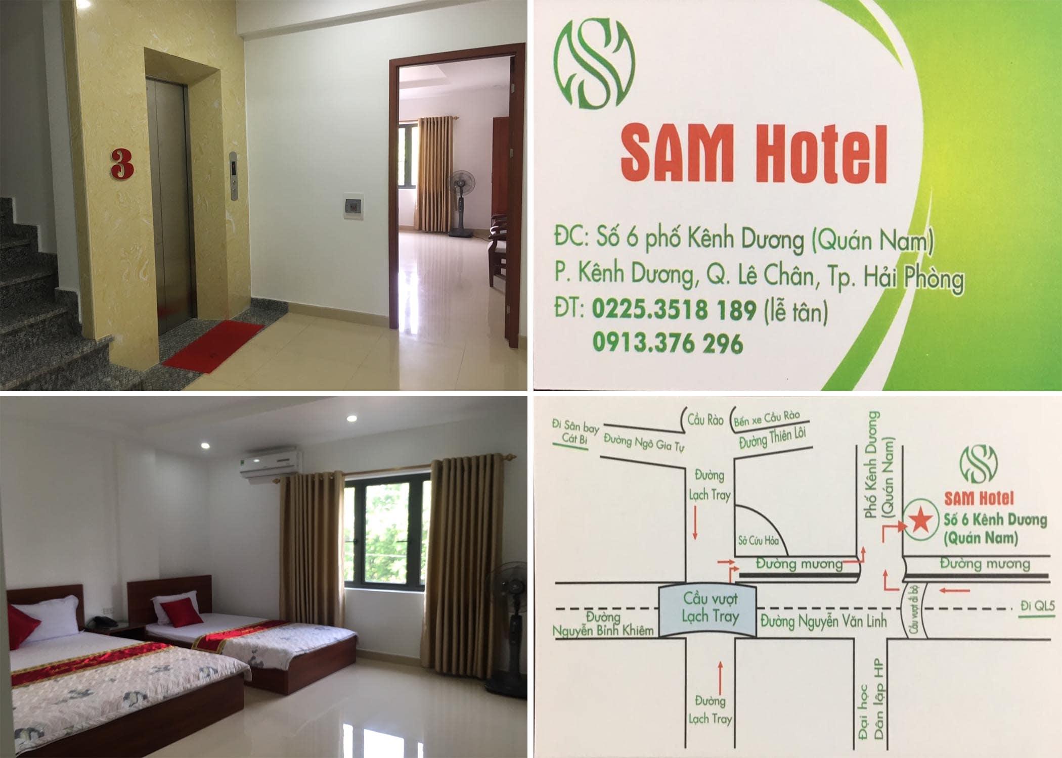 khách sạn Sam Hotel Hải Phòng