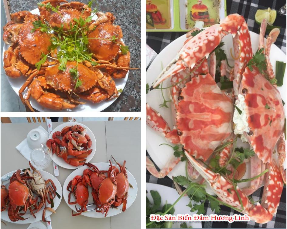 Những món ăn hải sản tươi ngon và hấp dẫn