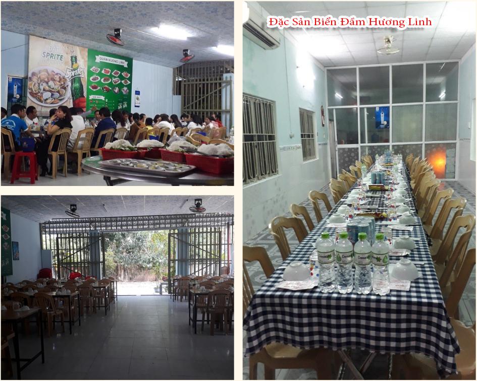 Quán Hương Linh là nơi tổ chức tiệc báo hỷ, sinh nhật, họp mặt, tất niên và khách du lịch
