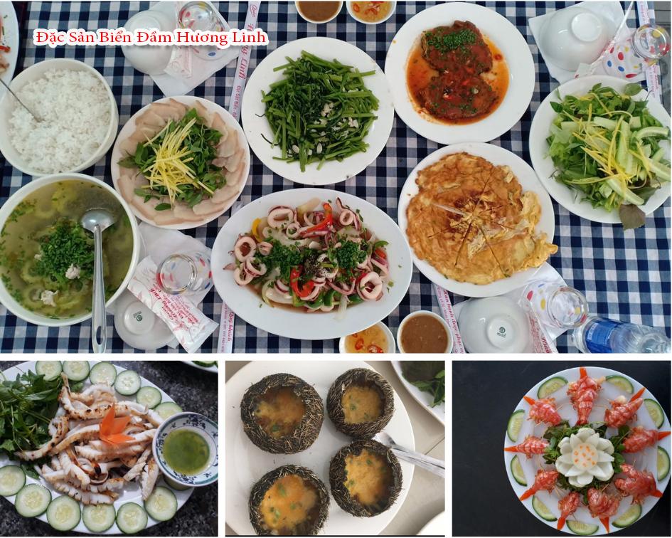Quán chuyên về hải sản, thực đơn đa dạng các món ăn ngon và không gian thoáng mát