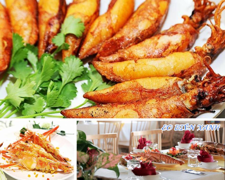Quý khách được thưởng thức những món đặc sản hải sản tuyệt vời ở Vũng Tàu