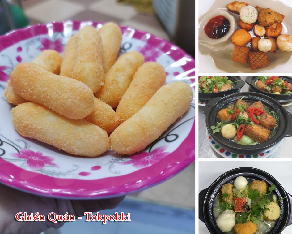 Các món ăn vặt Hàn Quốc