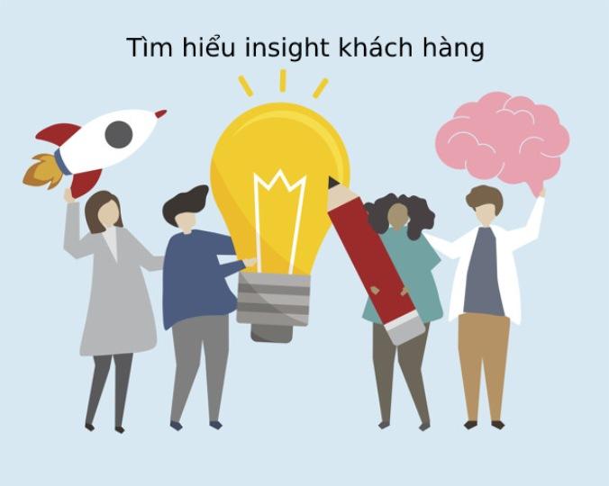 Hình ảnh minh hoạ về tìm hiểu Insight của khách hàng