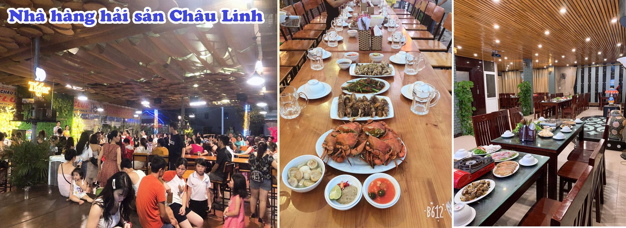 NHÀ HÀNG HẢI SẢN CHÂU LINH - Nhà hàng hải sản tươi sống ngon tại Sầm Sơn