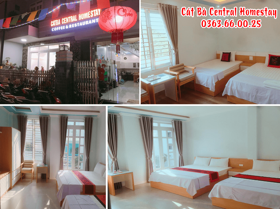 Space - Room comfort at Cat Ba Central Homestay