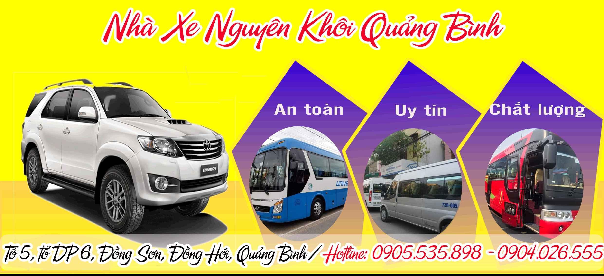 Nhà xe Nguyên Khôi Quảng Bình