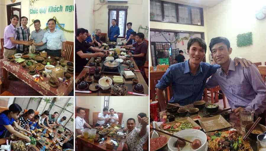 Không gian rất thích hợp cho những bữa cơm cùng gia đình, bạn bè, đồng nghiệp,...