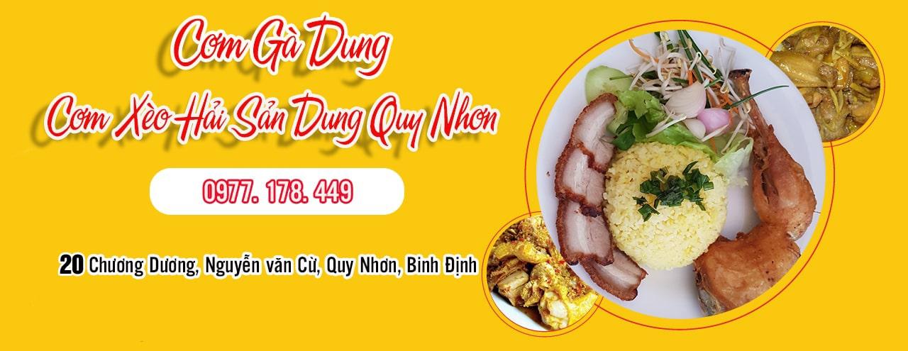 Cơm gà Dung Quy Nhơn