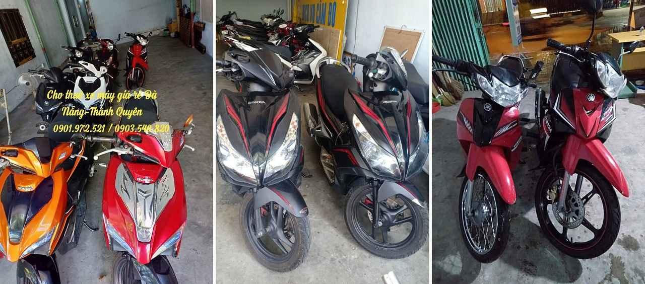 Dịch vụ thuê xe máy chất lượng tại Tôn Đản