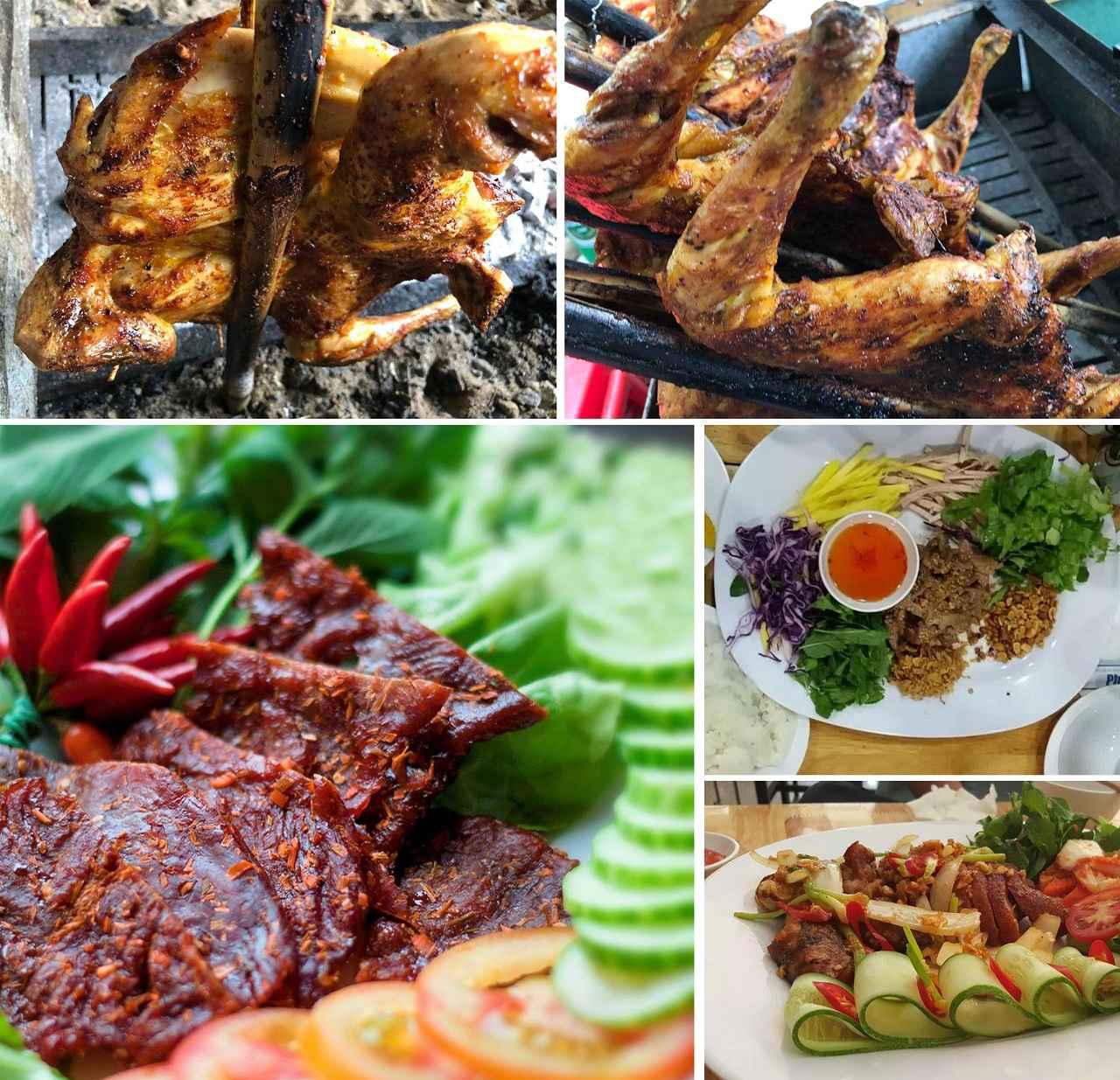 Nhà hàng cơm lam gà nướng muối é nổi tiếng tại Đà Lạt
