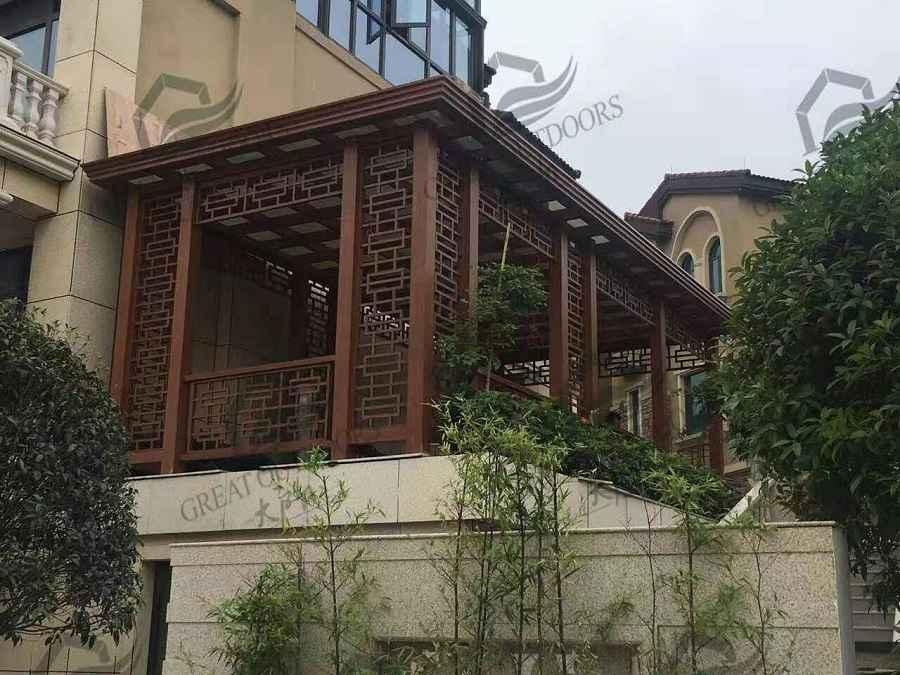 Dạng nhà kết cấu bằng nhôm