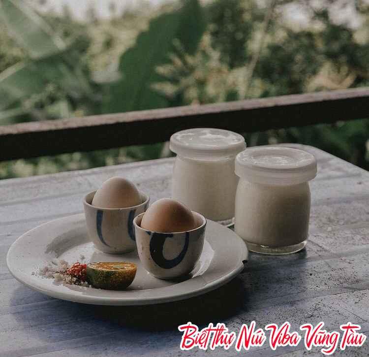 Đặc sản sữa chua trứng nướng ngon tại Vũng Tàu