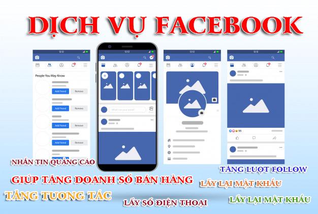 Dịch vụ Facebook - Các dịch vụ facebook cần biết để tăng doanh số bán hàng