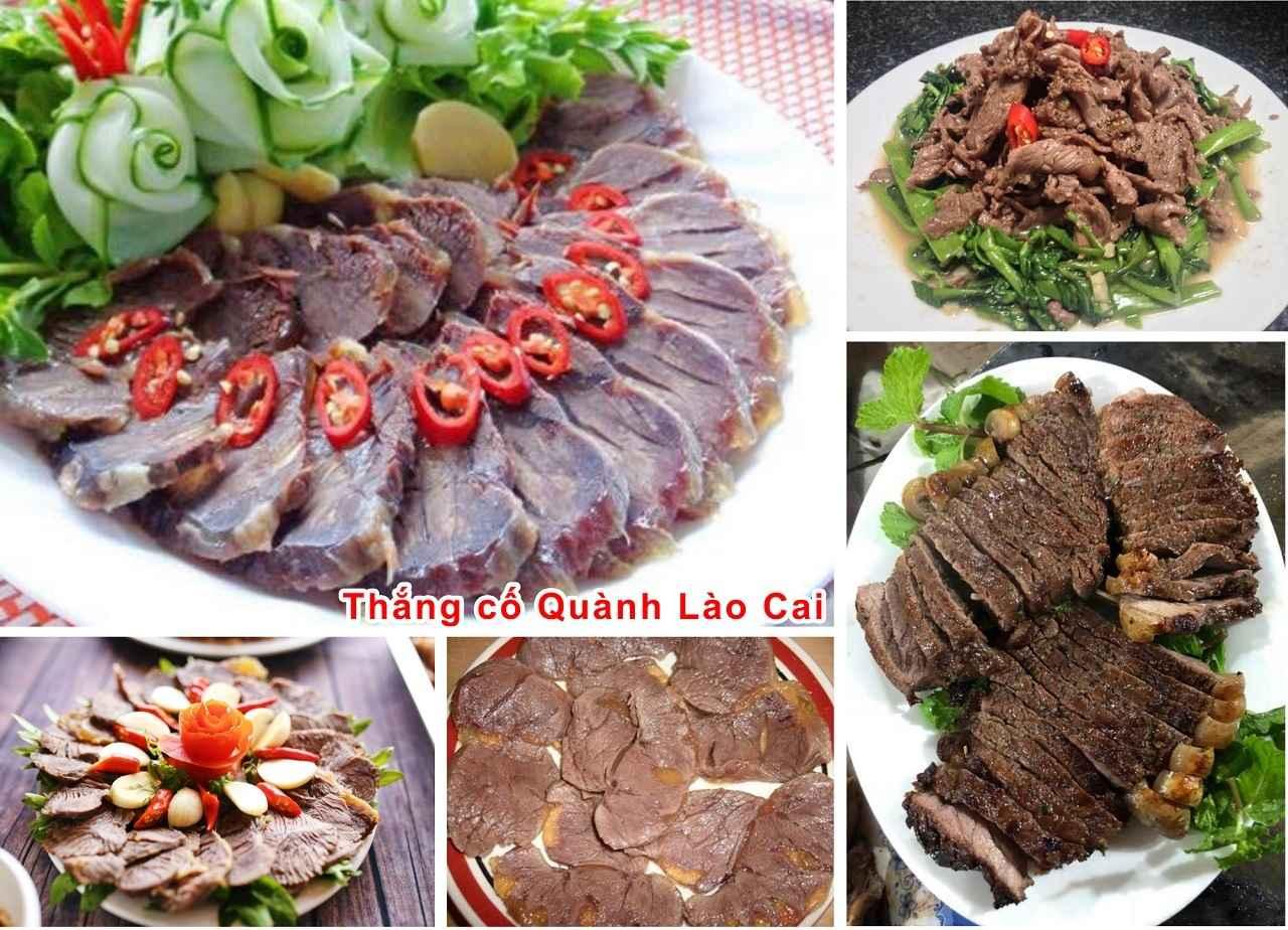 Quán chuyên các món thịt ngựa ngon Sapa
