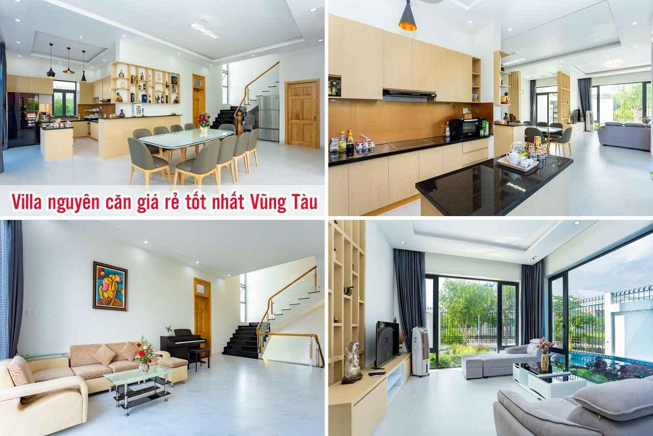 Villa nguyên căn giá rẻ tốt nhất Vũng Tàu