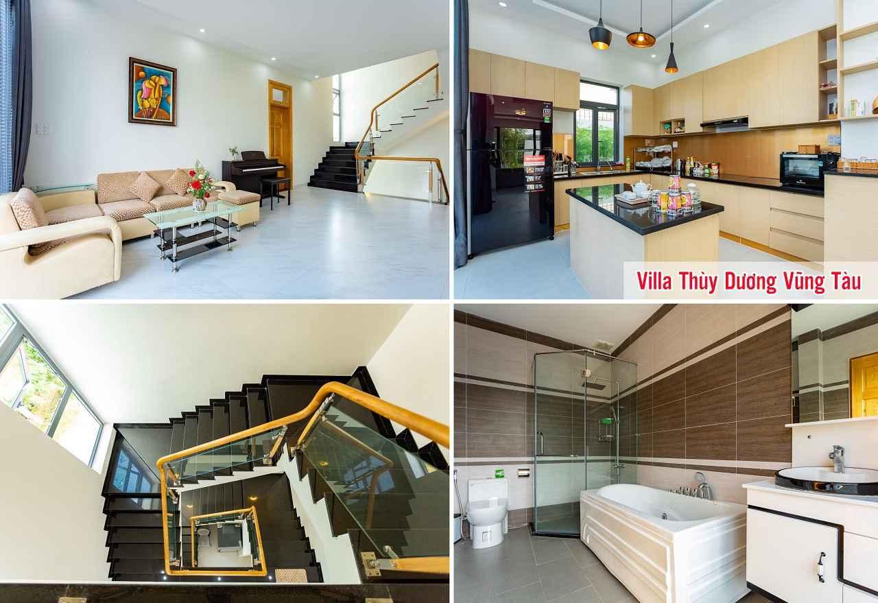 Không gian nội thất villa