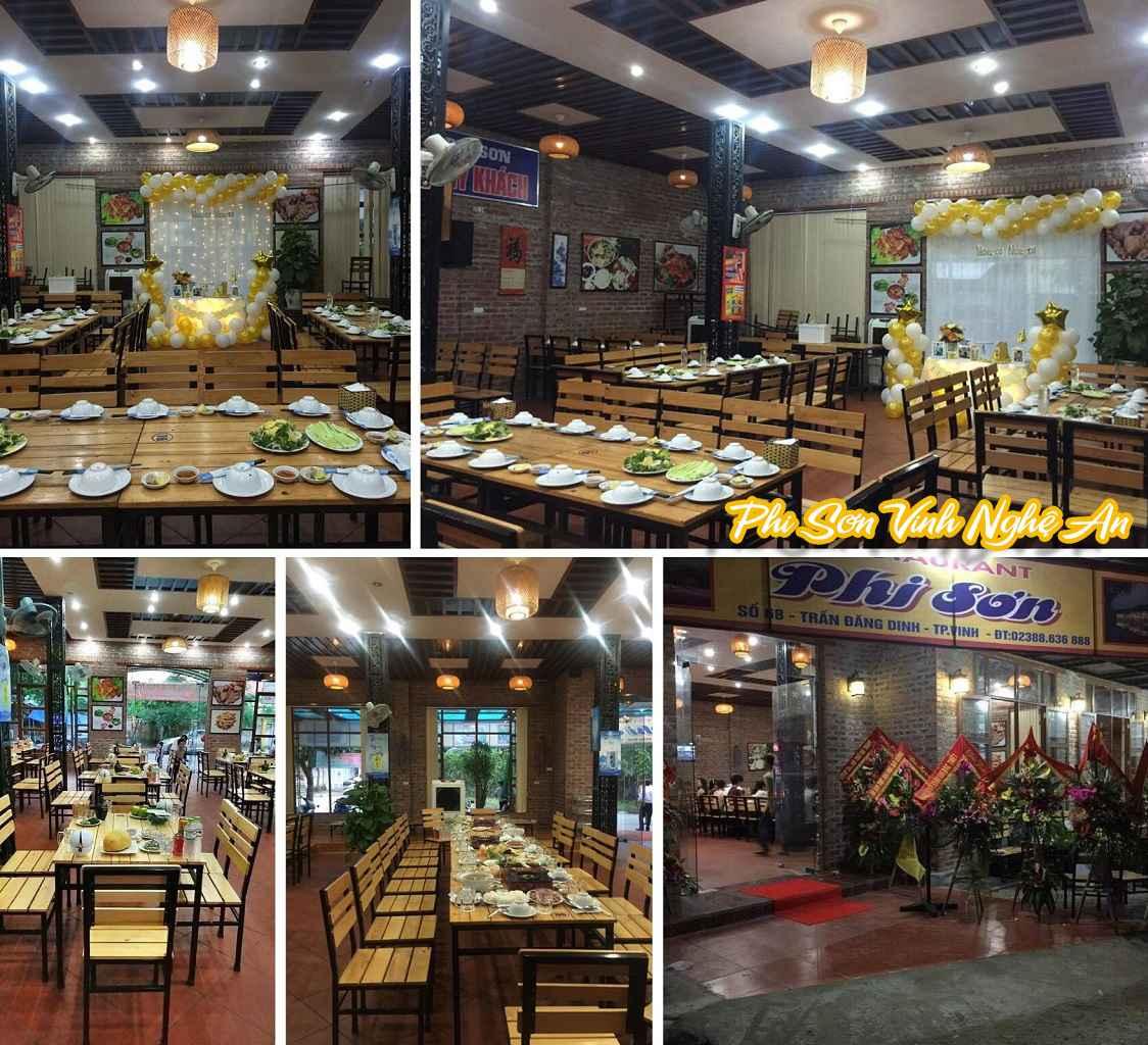Nhà hàng ngon bổ rẻ tại Vinh - Một số hình ảnh của nhà hàng