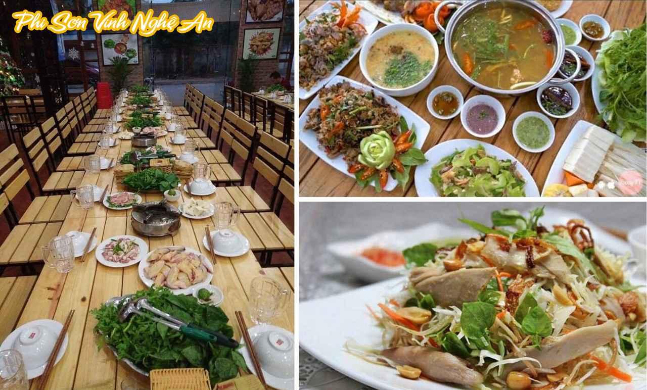 Nhà hàng ngon bổ rẻ tại Vinh