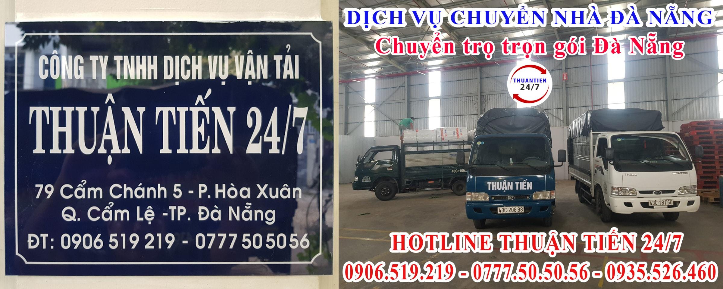 Vận tải Thuận Tiến 24/7 - Dịch vụ chuyển nhà Đà Nẵng
