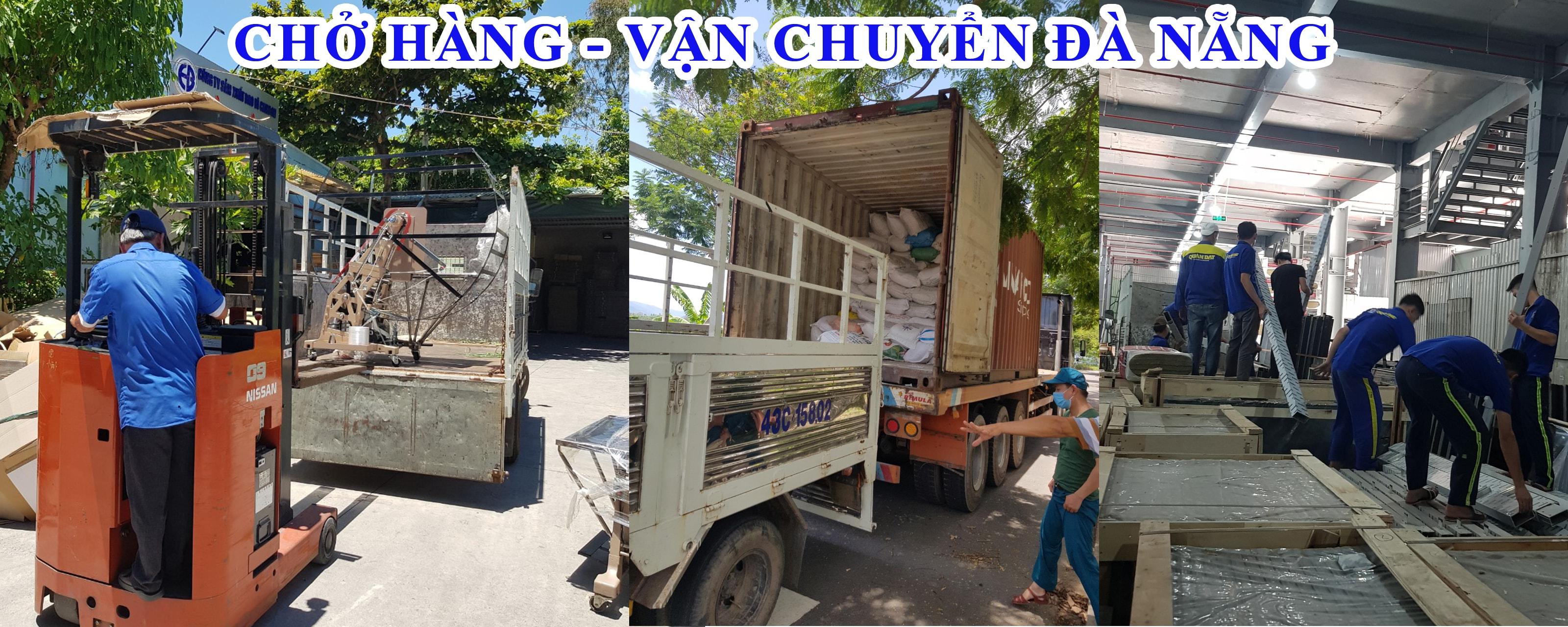 Chở hàng vận chuyển Đà Nẵng