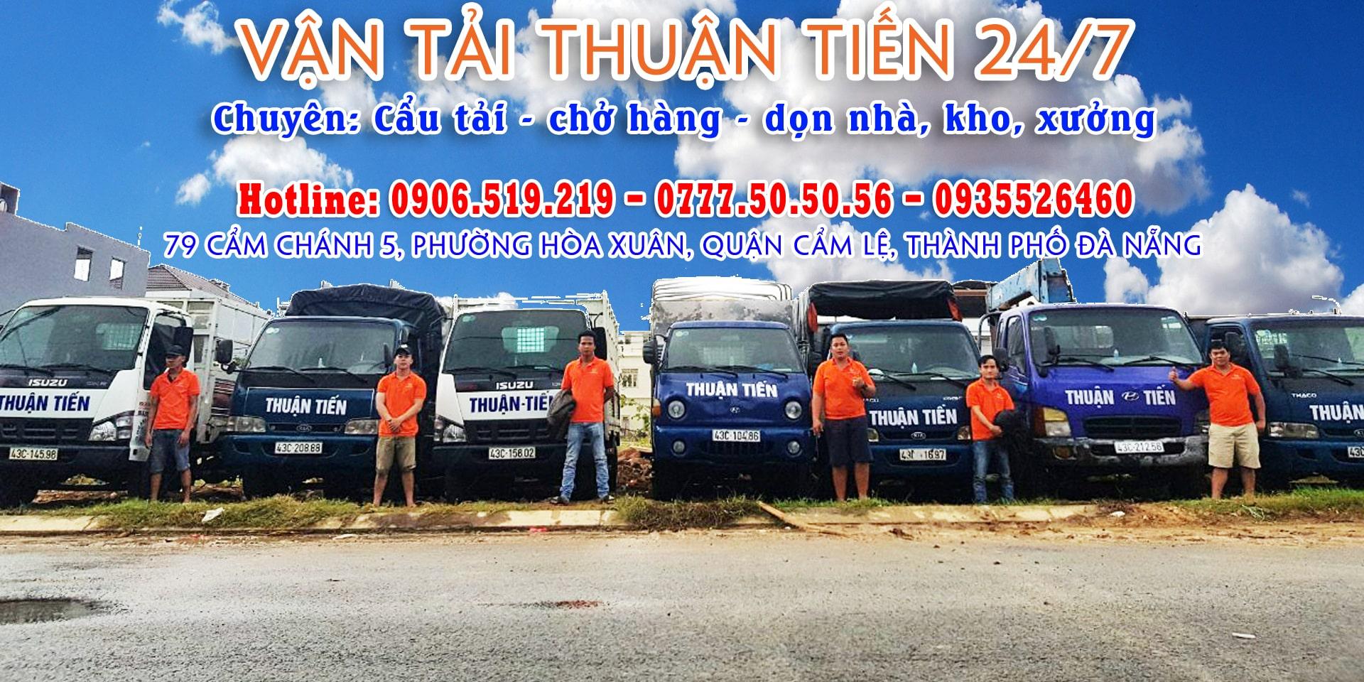 Anh em tài xế Thuận Tiến 24/7 sẳn sàng để phục vụ quý khách
