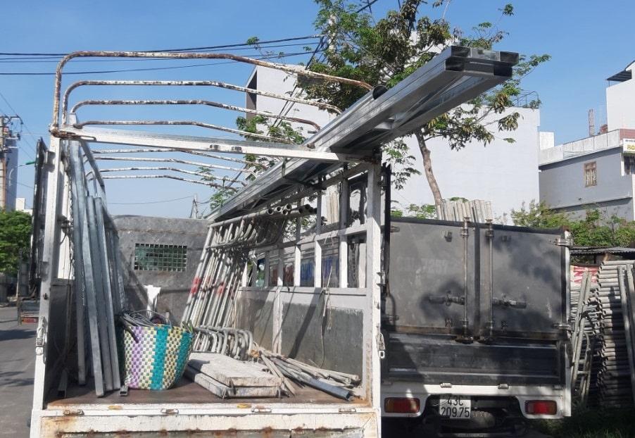 xe chở hàng Đà Nẵng