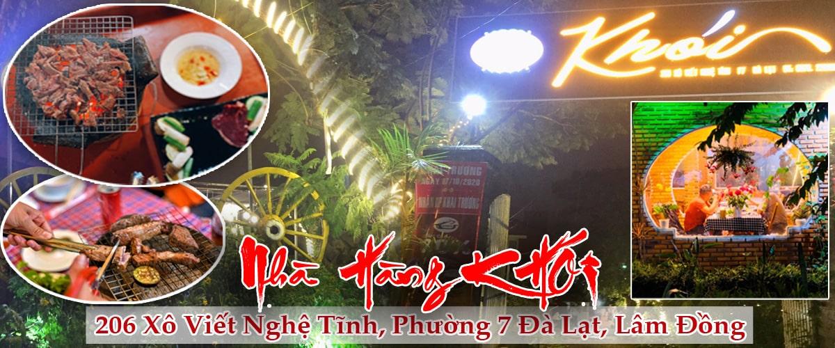Nhà hàng Khói Đà Lạt - Nhà hàng lẩu nướng ngon tại Đà Lạt – Nhà hàng view đẹp tại Đà Lạt
