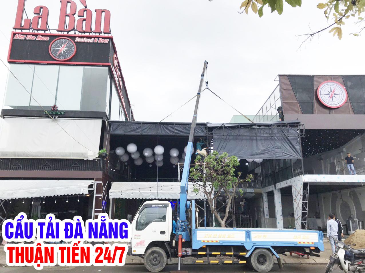Thuê xe cẩu Đà Nẵng