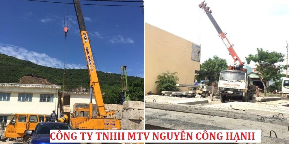 Xe Cẩu của CÔNG TY TNHH MTV NGUYỄN CÔNG HẠNH