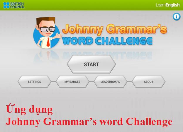 Ứng dụng Johnny Grammar's word Challenge